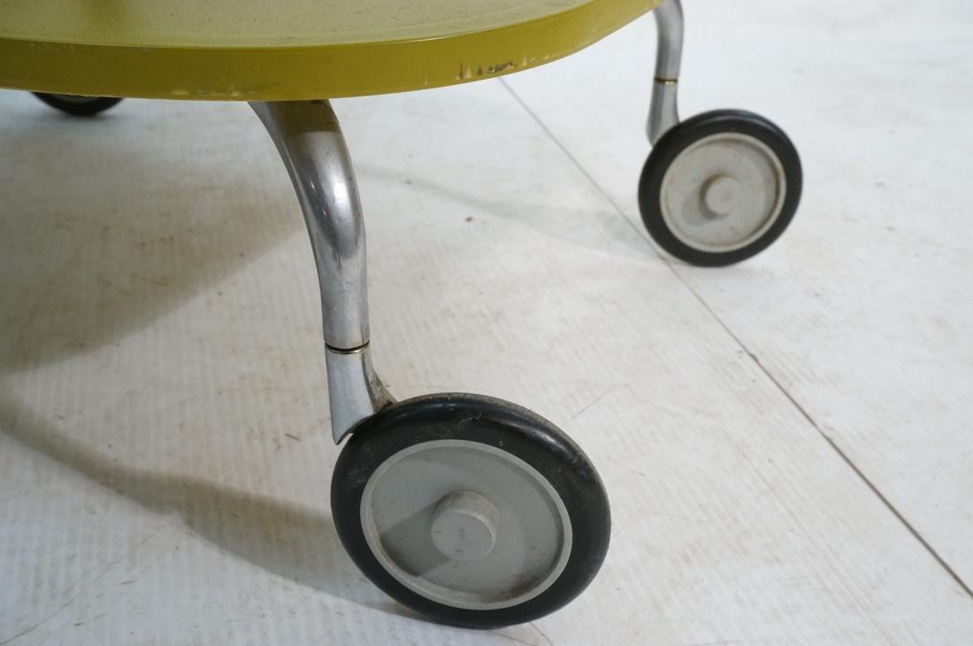 KARTELL Italian 2 Tier Rolling Cart. 2 green mold - 5