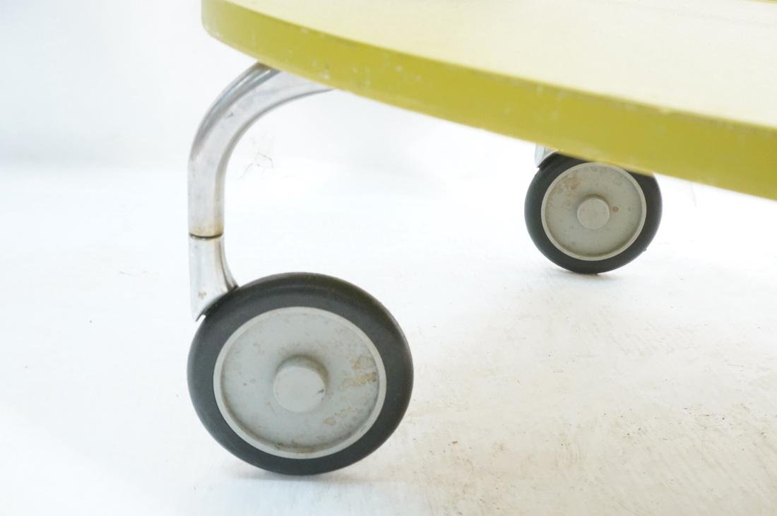 KARTELL Italian 2 Tier Rolling Cart. 2 green mold - 6