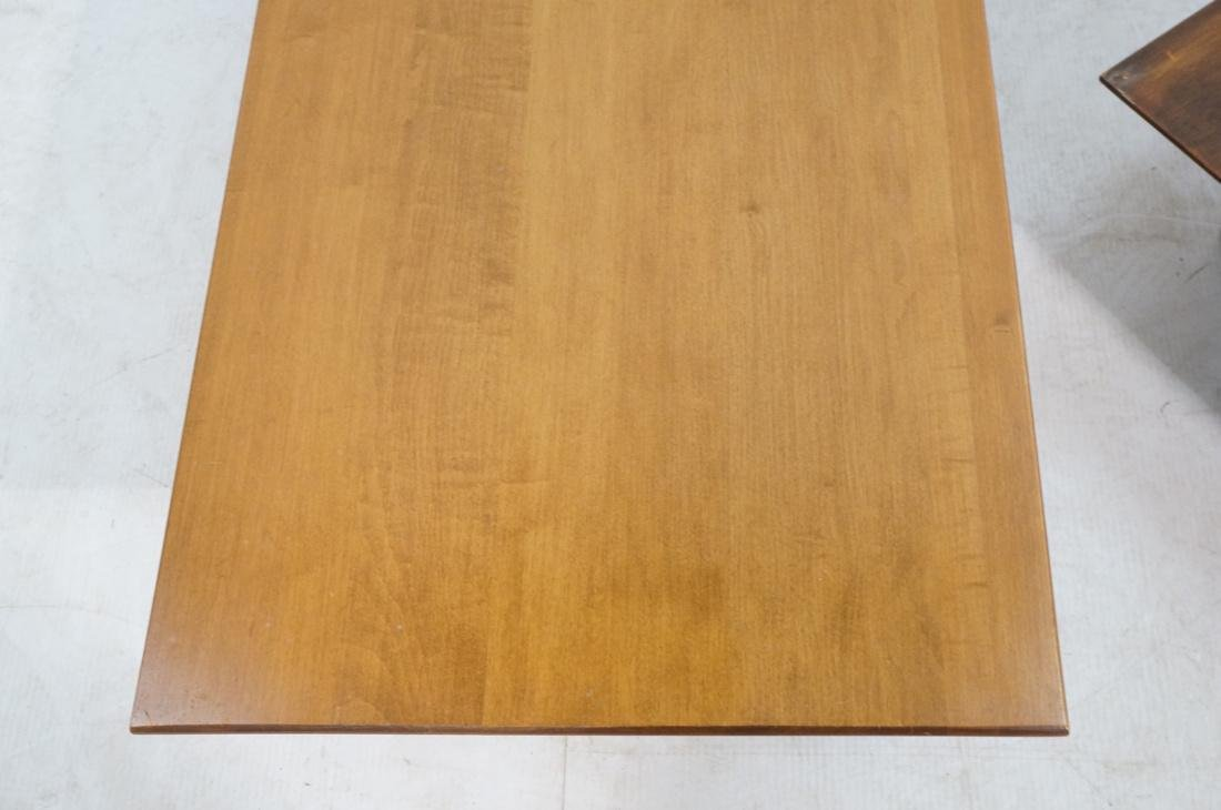 2 PAUL MCCOBB Modern Maple Coffee Tables. Tapered - 3