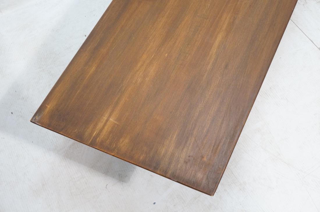 2 PAUL MCCOBB Modern Maple Coffee Tables. Tapered - 4