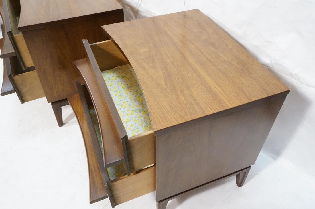 Pr AMERICAN MODERN 2 Drawer Night Stands. Decorat - 3
