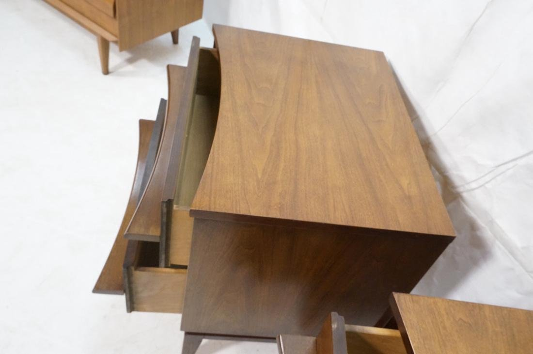 Pr AMERICAN MODERN 2 Drawer Night Stands. Decorat - 4