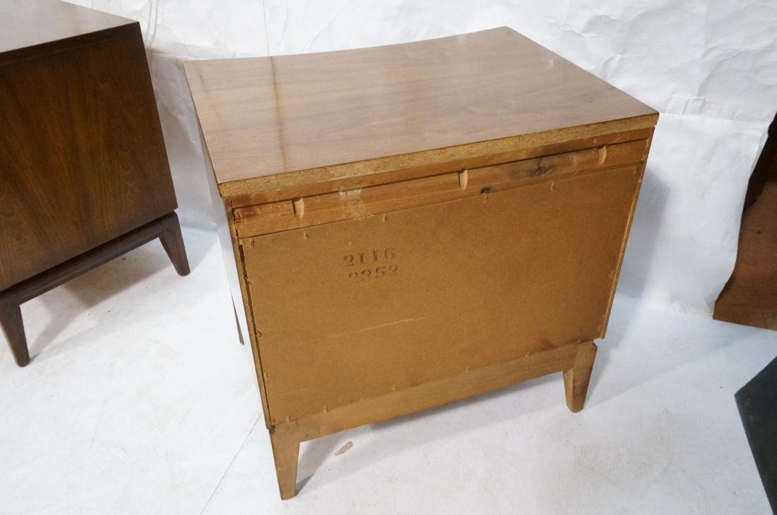 Pr AMERICAN MODERN 2 Drawer Night Stands. Decorat - 7