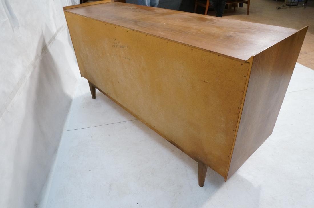 LANE 6 Drawer Credenza Side Board Dresser. Walnut - 5