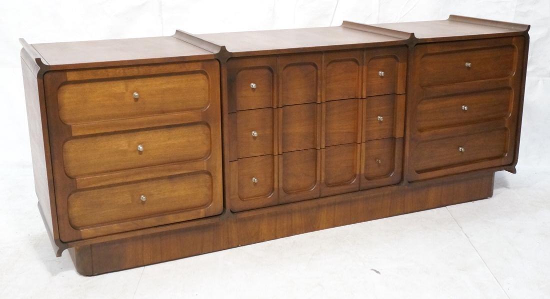 Modern Credenza Side Board Dresser. American waln