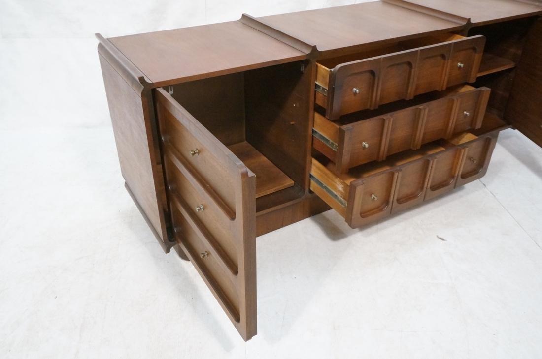 Modern Credenza Side Board Dresser. American waln - 3