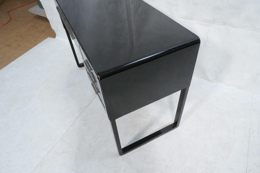 SIMMONS Modernist Metal Desk. ART DECO. Four draw - 5