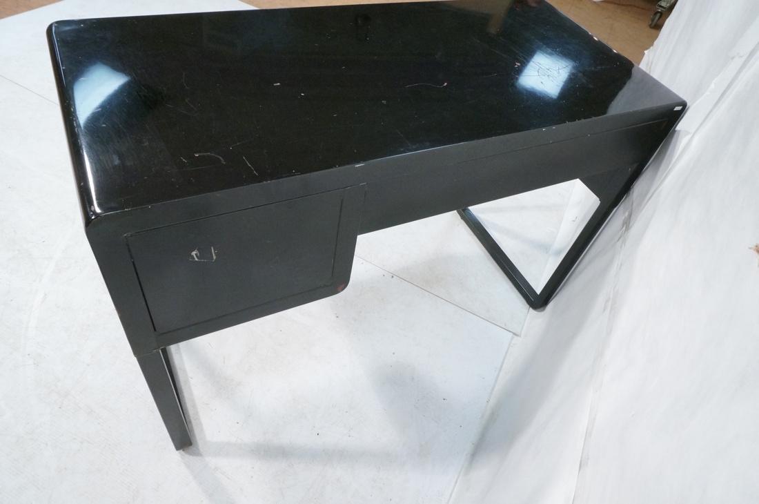 SIMMONS Modernist Metal Desk. ART DECO. Four draw - 7