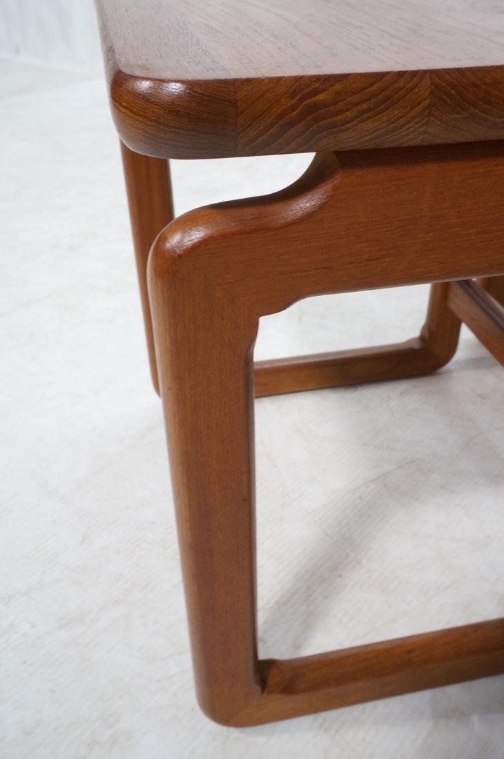 Set 3 Danish Teak Nesting Tables. Open frame leg - 6