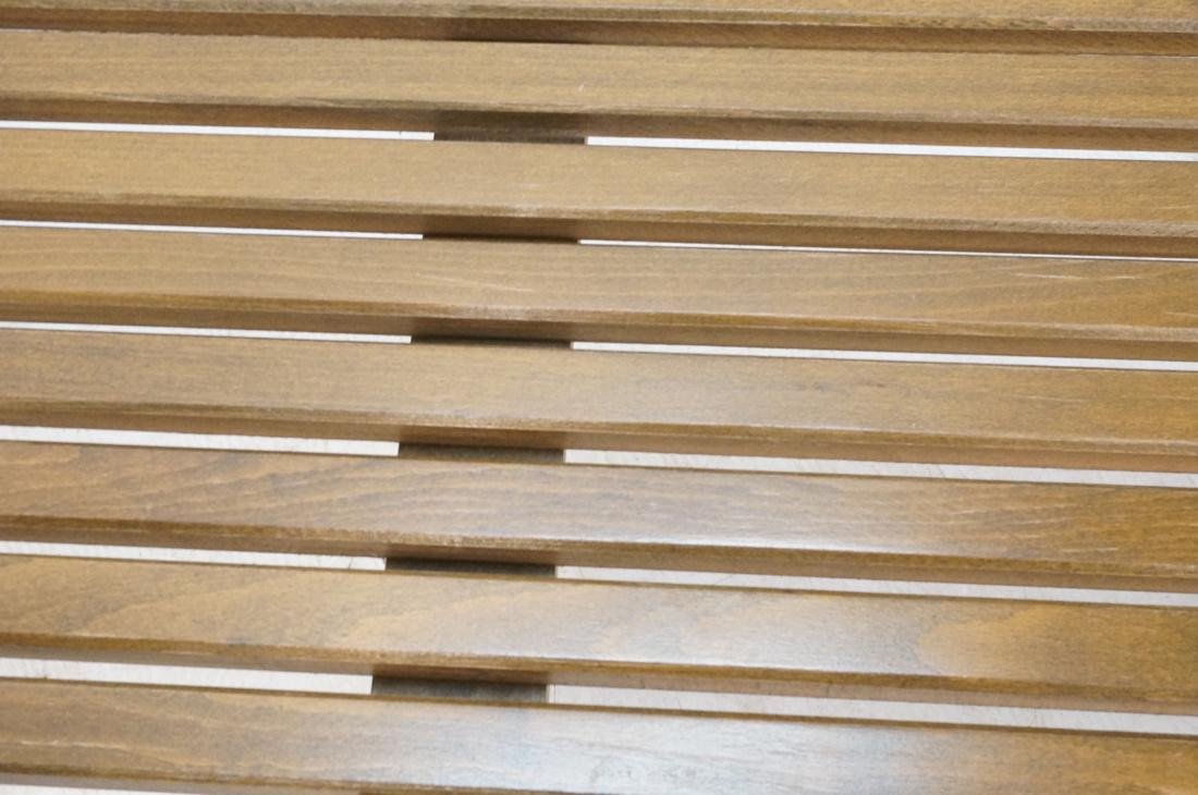 GEORGE NELSON Style American Modern Slat Bench. C - 4