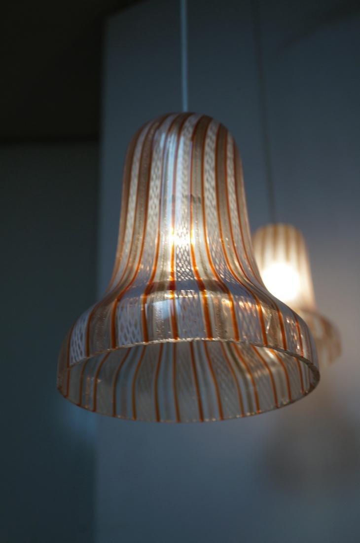 DINO MARTENS Murano Art Glass Chandelier. 3 Itali - 3