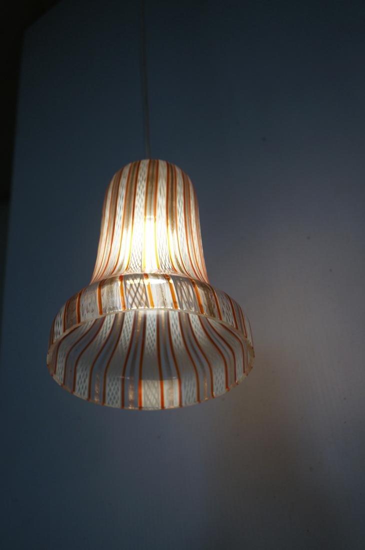 DINO MARTENS Murano Art Glass Chandelier. 3 Itali - 4
