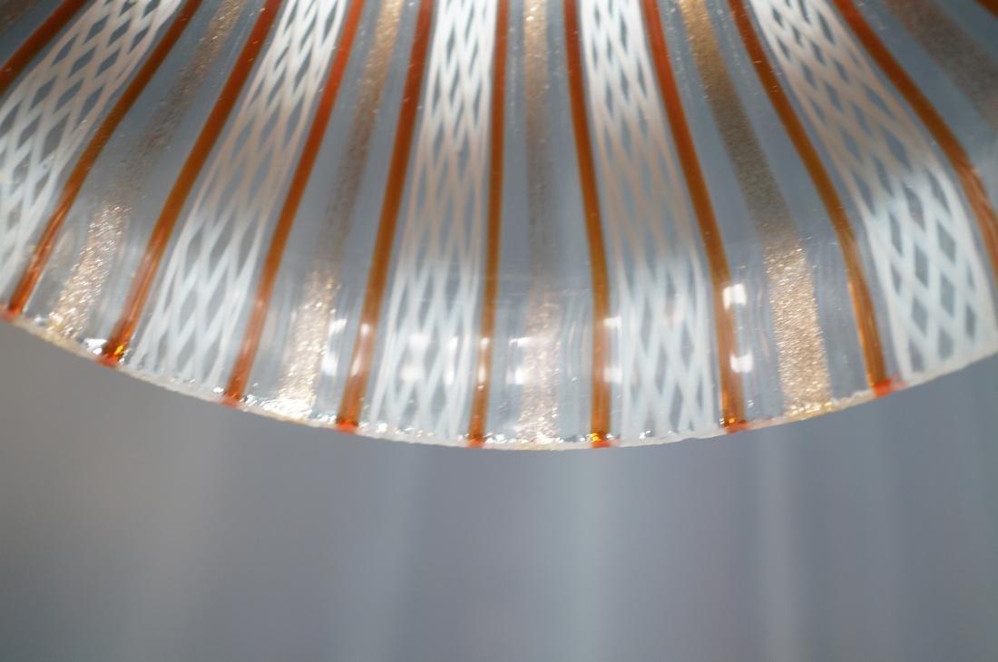 DINO MARTENS Murano Art Glass Chandelier. 3 Itali - 6