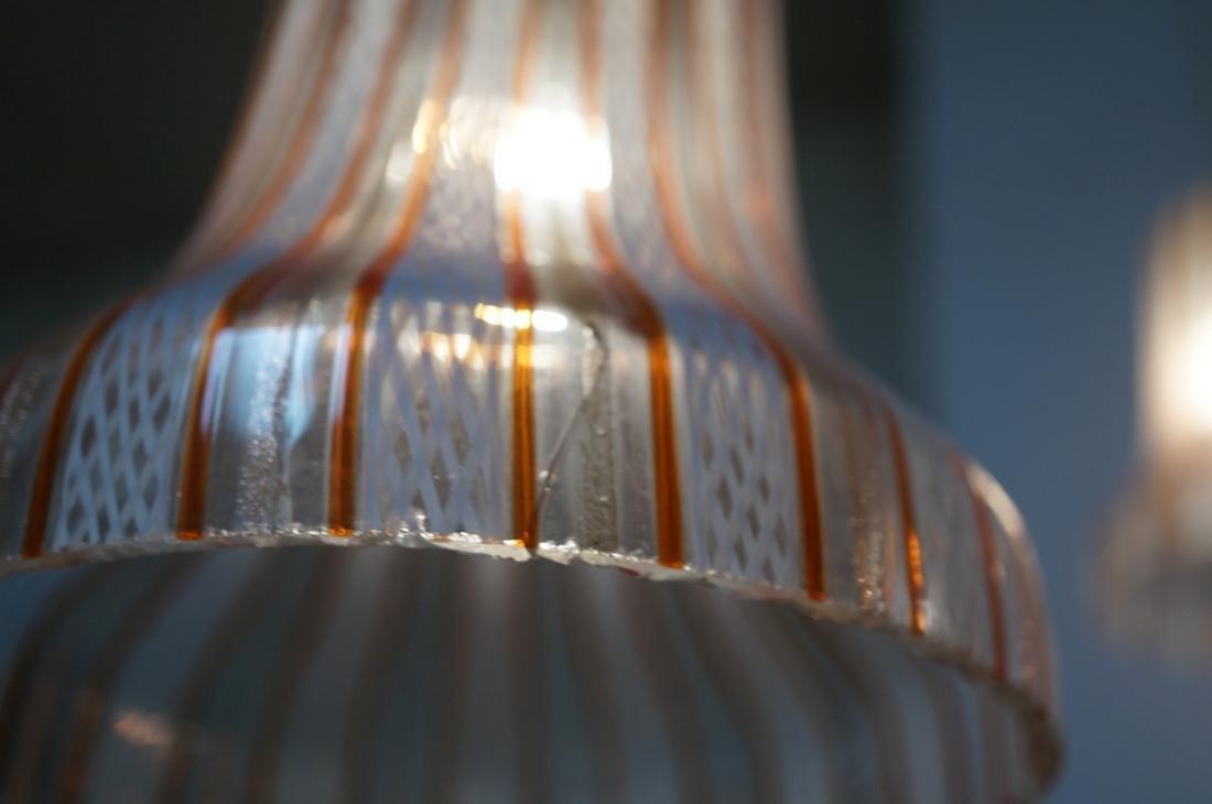 DINO MARTENS Murano Art Glass Chandelier. 3 Itali - 7