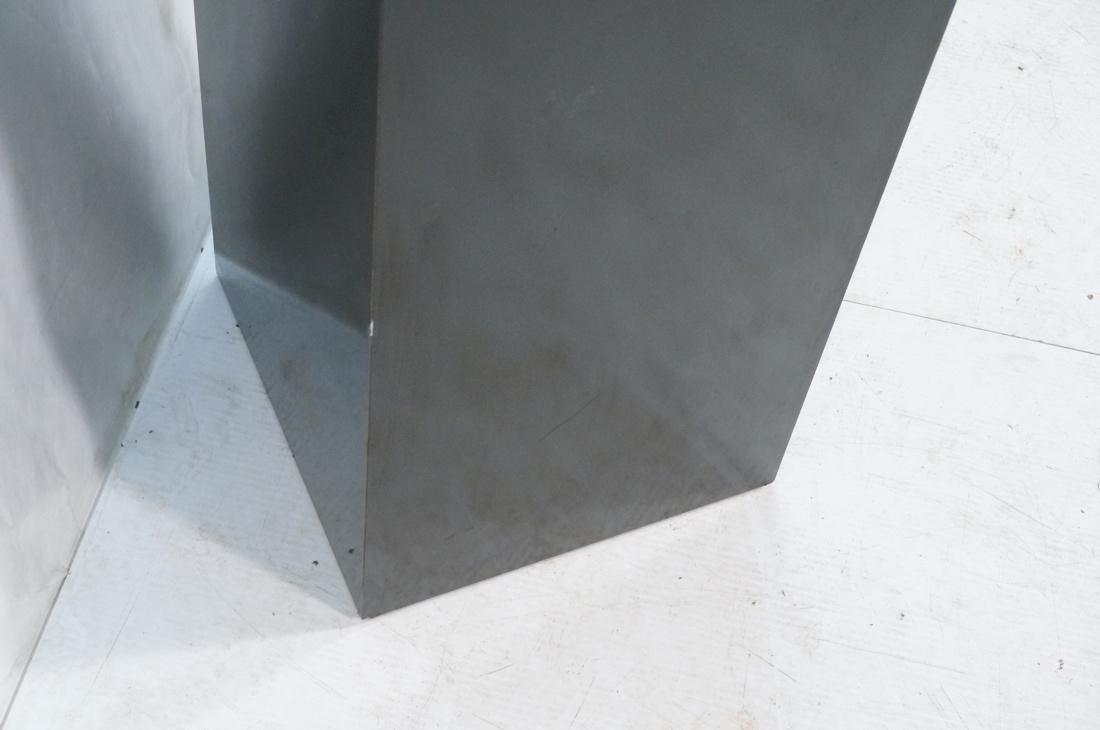 Modern Black & Brass Square Display Pedestal. Bla - 4
