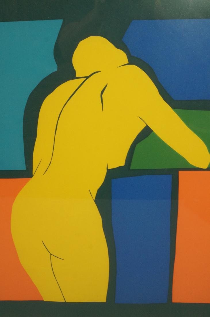 2 Pc KIM WEINTRAUB Colorful Nude Prints. Matisse - 3