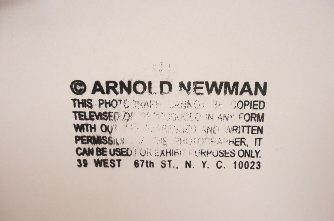 Framed ARNOLD NEWMAN B&W Photo 2 Dancers in black - 3