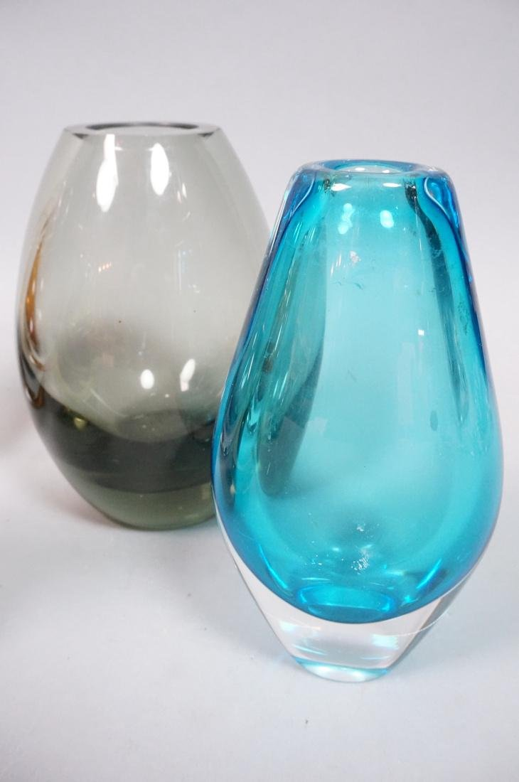 6 pc Art Glass Lot American Italian Scandinavian. - 4