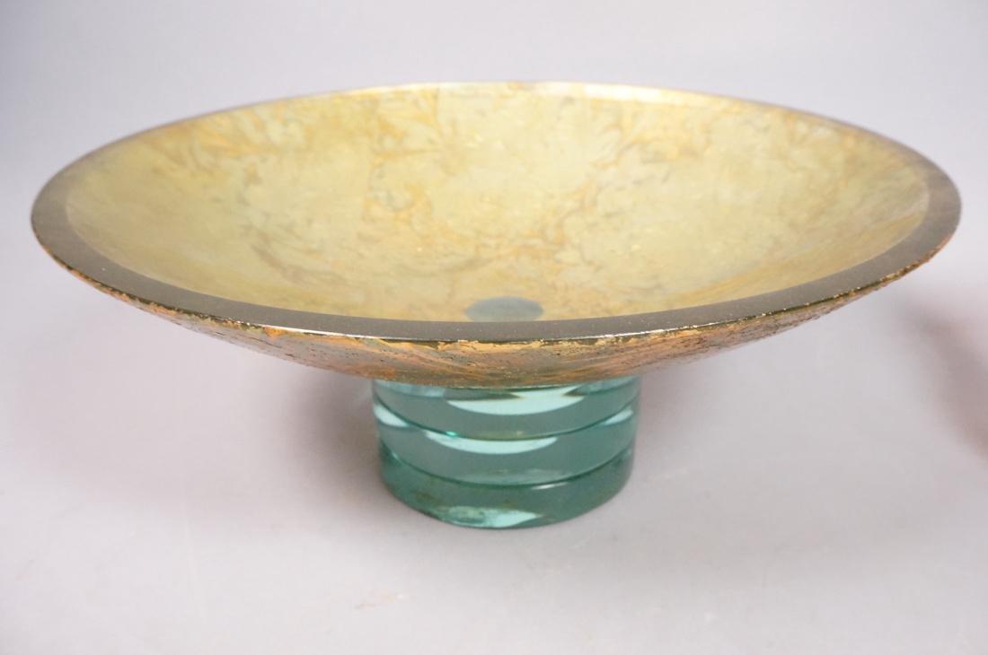 6 pc Art Glass Lot American Italian Scandinavian. - 5