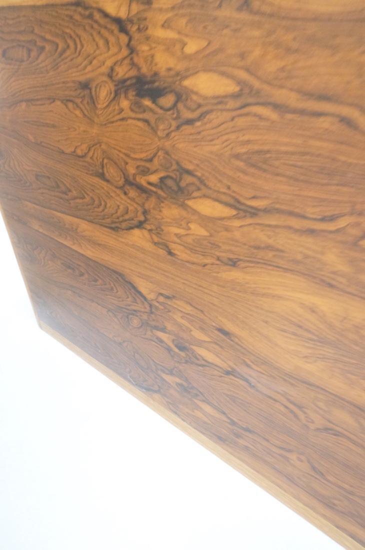 DUNBAR Rosewood & Oak Etagere Cabinet. Curved oak - 8