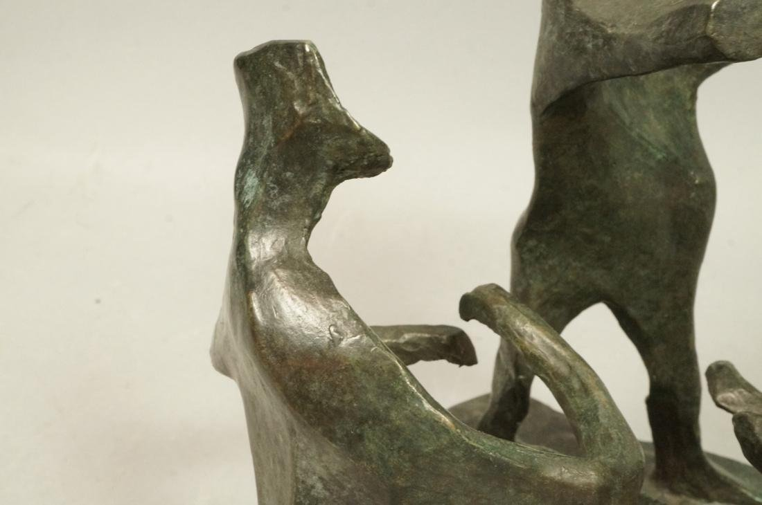 IRMA BARNESS Figural Bronze Sculpture Grouping. M - 3