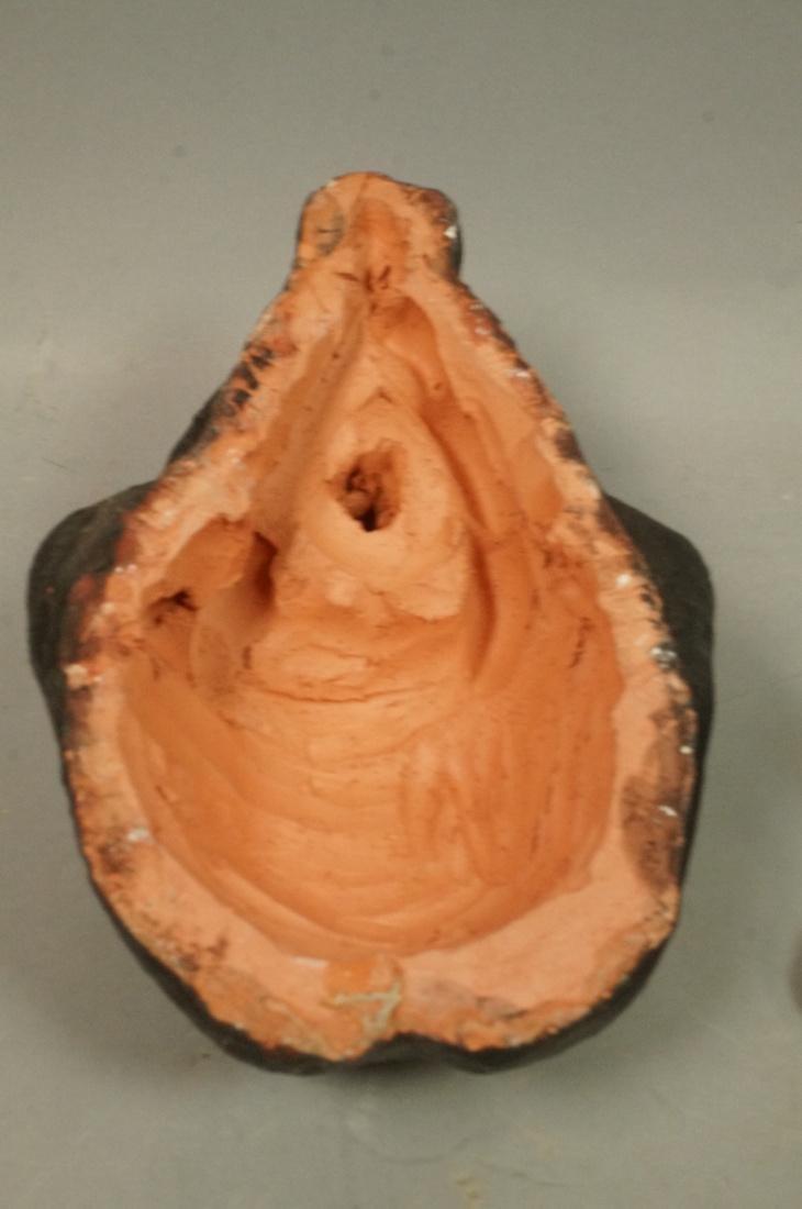 2 Pc IRMA BARNESS Bronze Figural Sculpture & Clay - 6