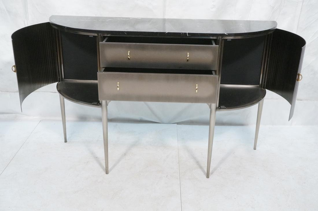 Contemporary Decorator Console Sideboard. Stainle - 2