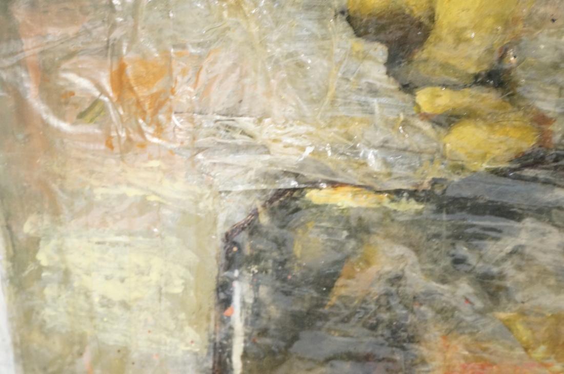 2 DARNELL EDWARDS Male Torso Art works. 1) Oil pa - 6