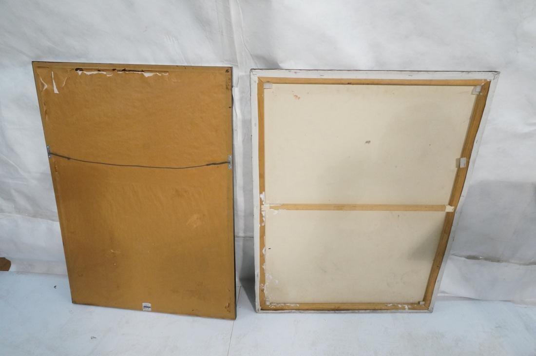 2 DARNELL EDWARDS Male Torso Art works. 1) Oil pa - 9