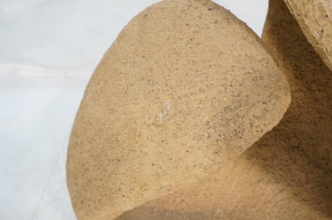 Organic Modernist Ceramic Pottery Sculpture. Text - 3