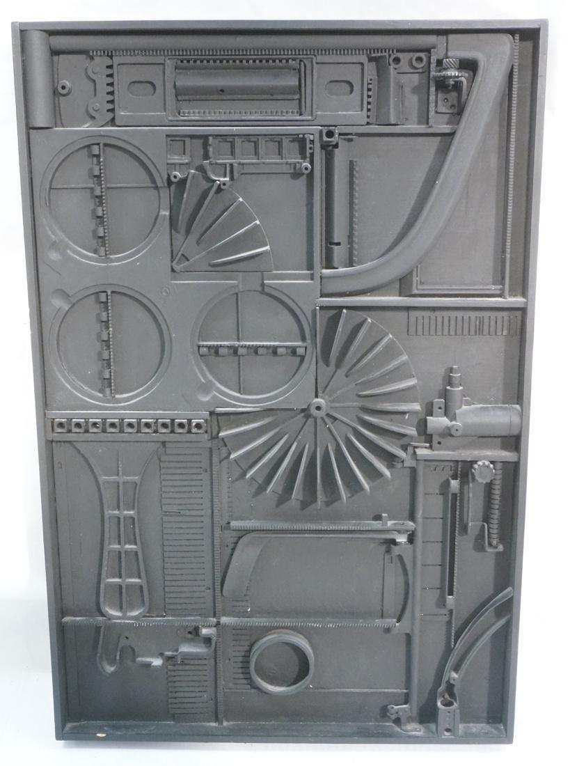 GEORGE GORDON 3D Mixed Medium Assemblage.