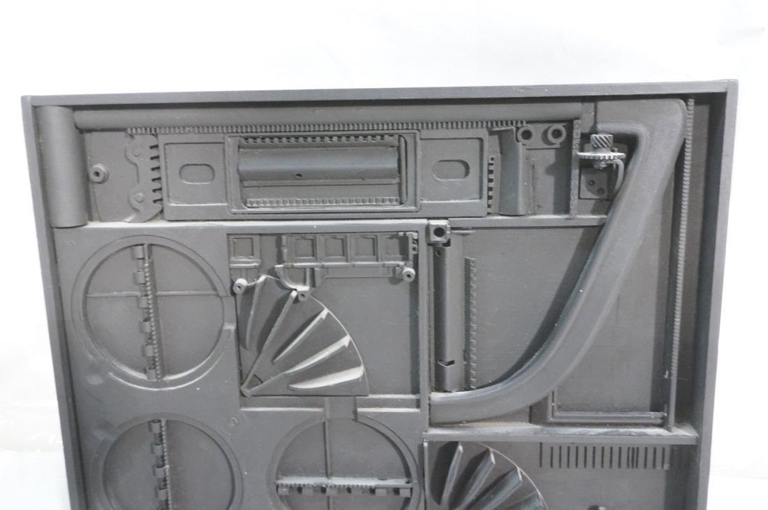 GEORGE GORDON 3D Mixed Medium Assemblage. - 2
