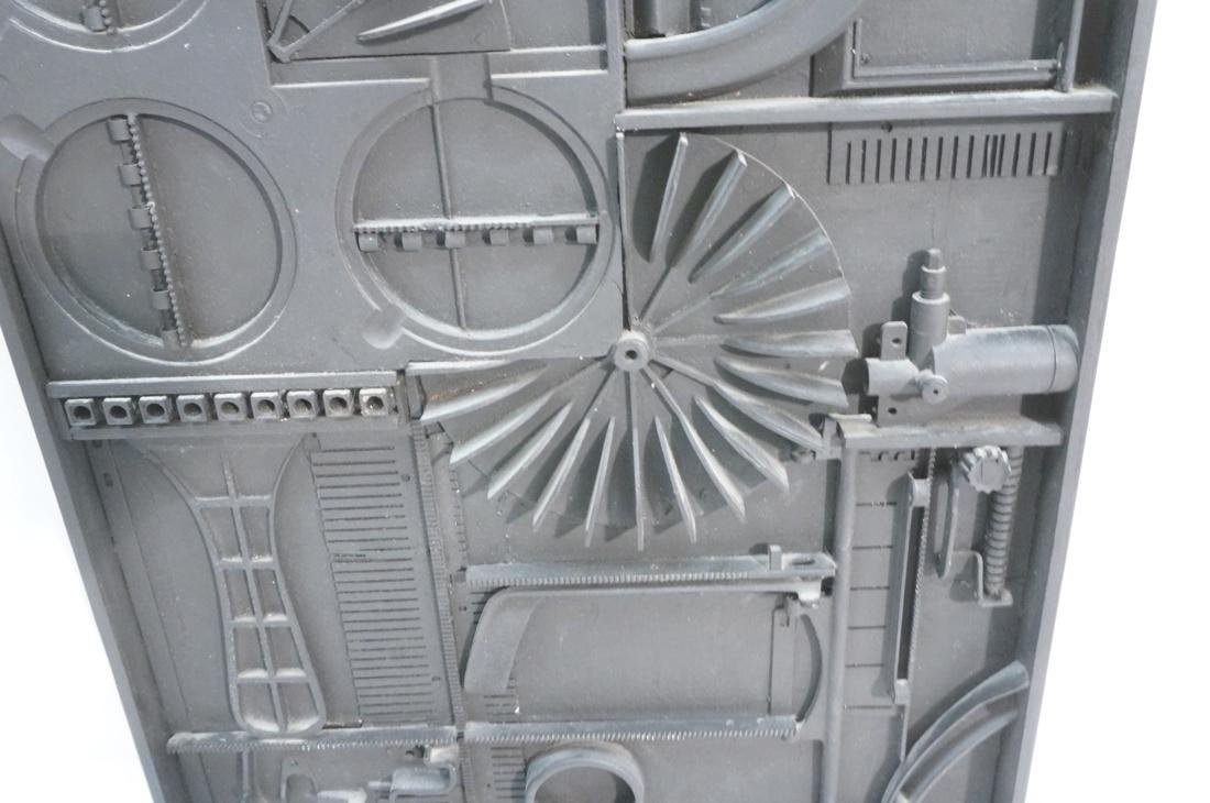 GEORGE GORDON 3D Mixed Medium Assemblage. - 3