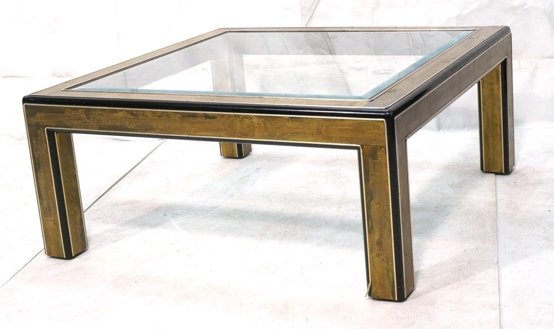BERNHARD ROHNE for MASTERCRAFT Coffee Table. Ebon