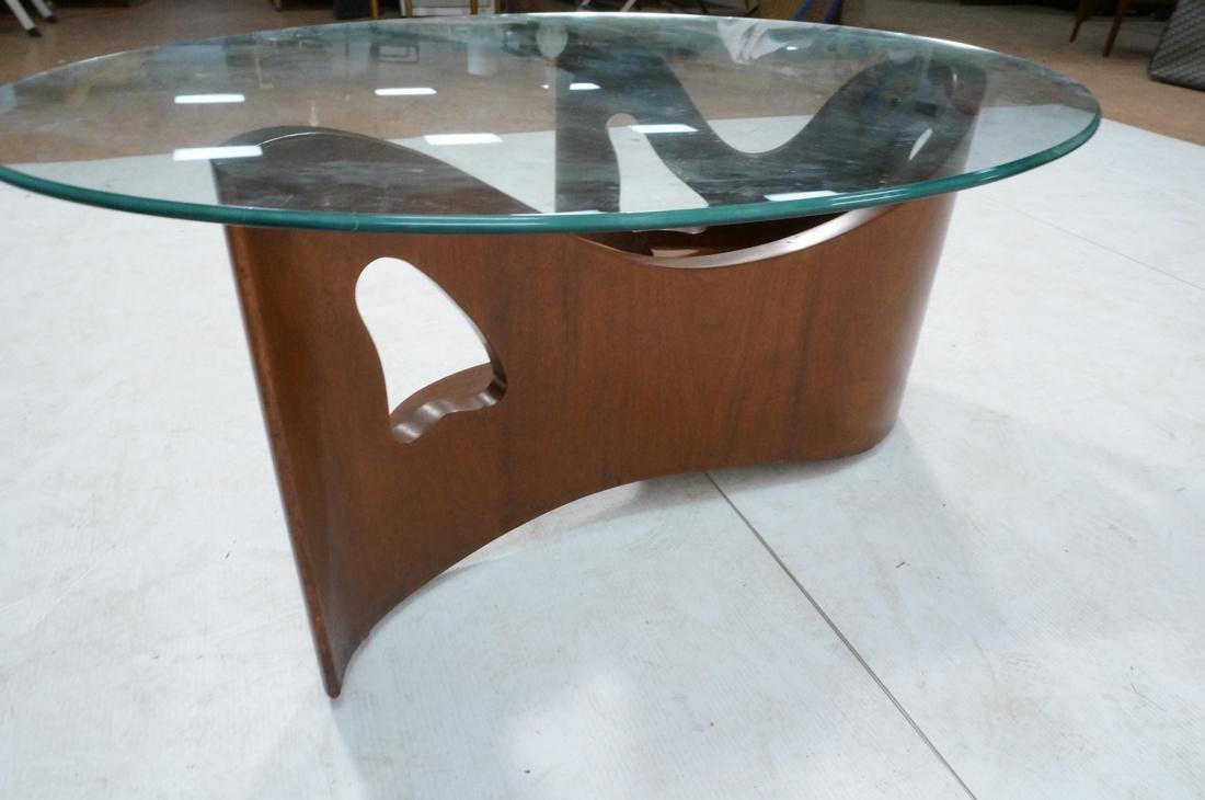 Stylish Modernist Organic Wood Cocktail Table. Gl - 5
