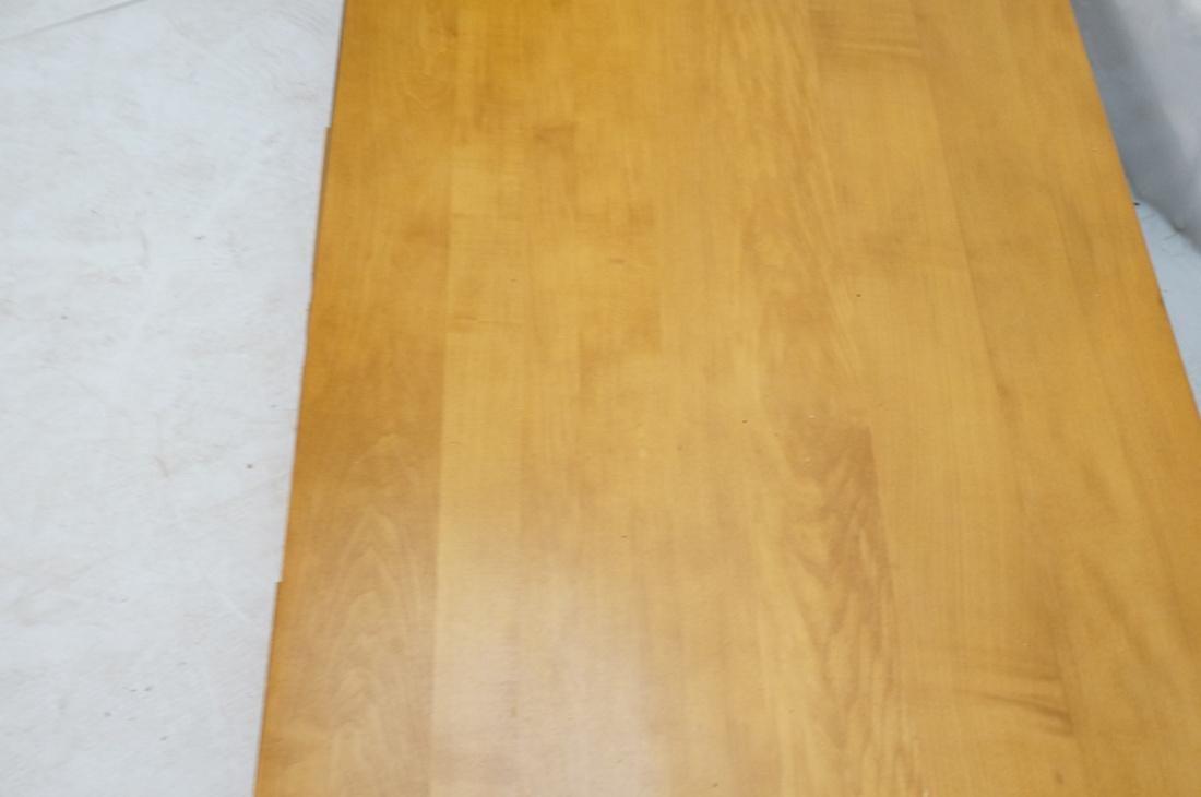 PAUL MCCOBB Maple 2 Drawer Coffee Table. Black ir - 4