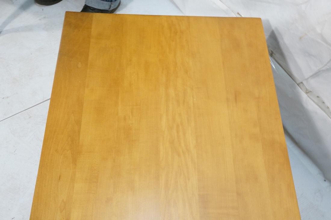 PAUL MCCOBB Maple 2 Drawer Coffee Table. Black ir - 5