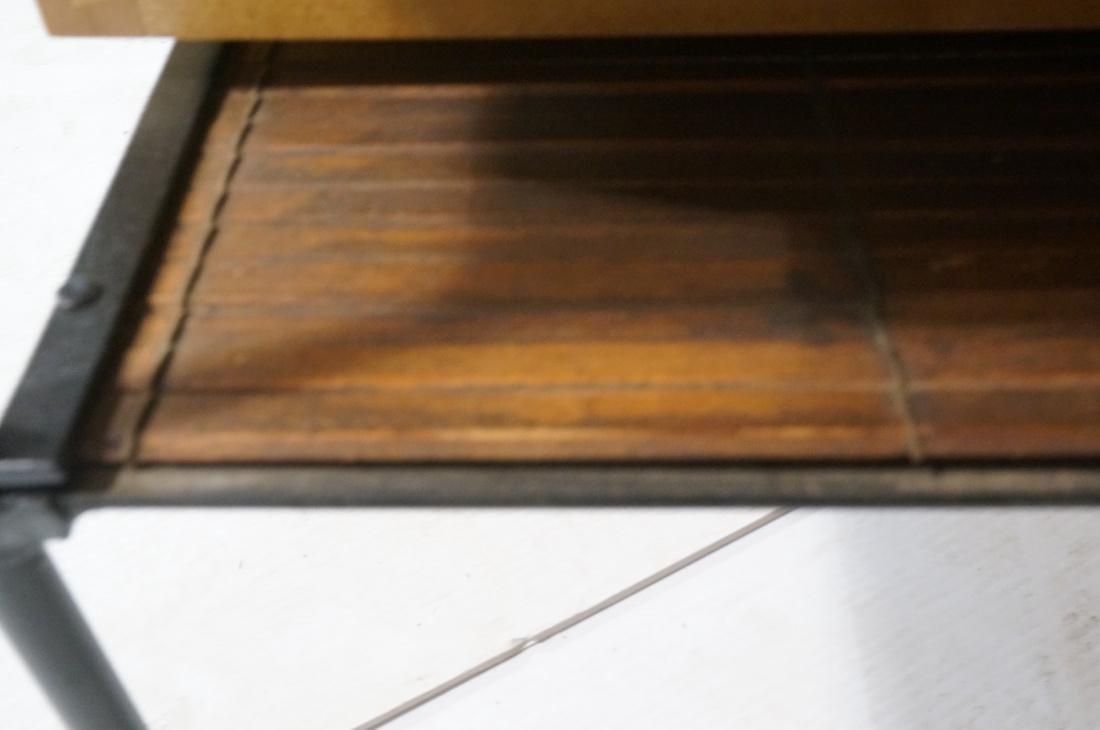 PAUL MCCOBB Maple 2 Drawer Coffee Table. Black ir - 6