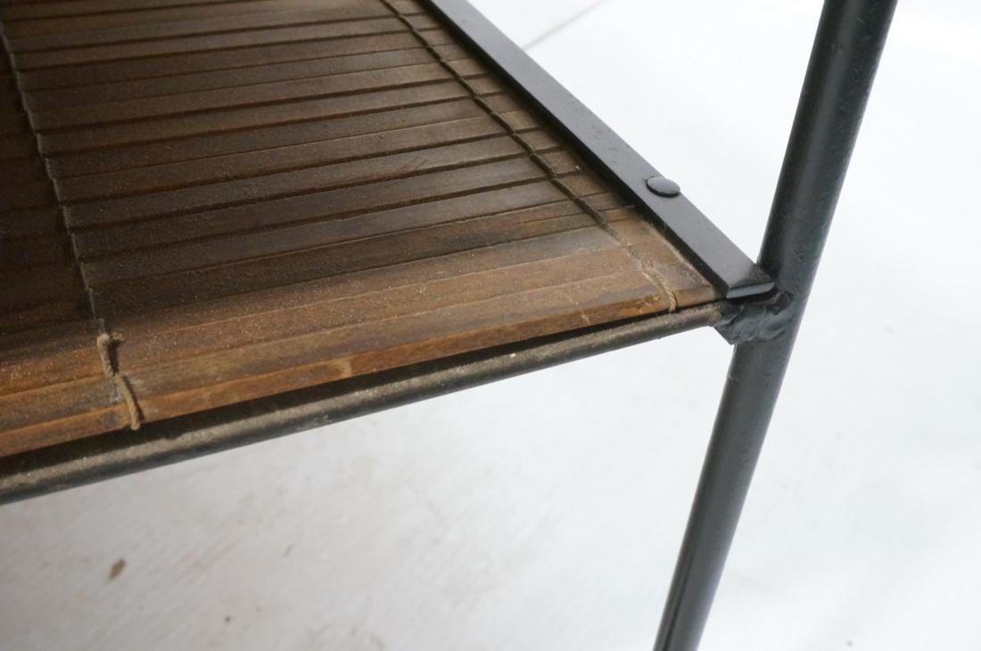 PAUL MCCOBB Maple 2 Drawer Coffee Table. Black ir - 7
