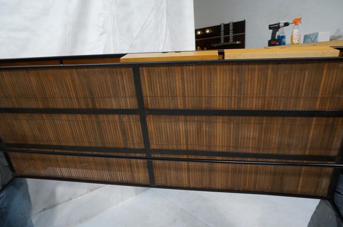 PAUL MCCOBB Maple 2 Drawer Coffee Table. Black ir - 9