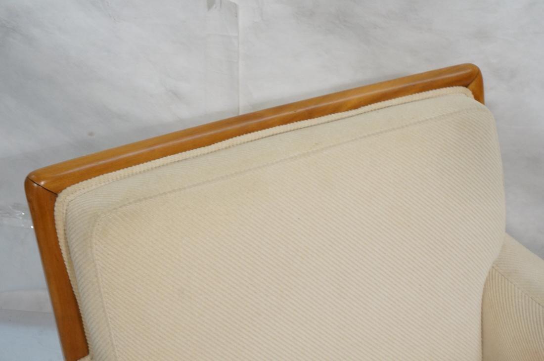 ROBSJOHN GIBBINGS Blond Wood Lounge Chair. Wood f - 2