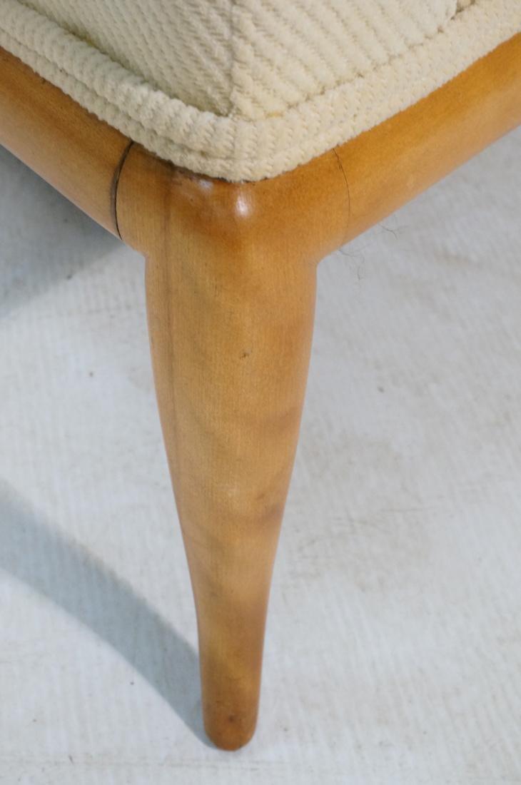 ROBSJOHN GIBBINGS Blond Wood Lounge Chair. Wood f - 5