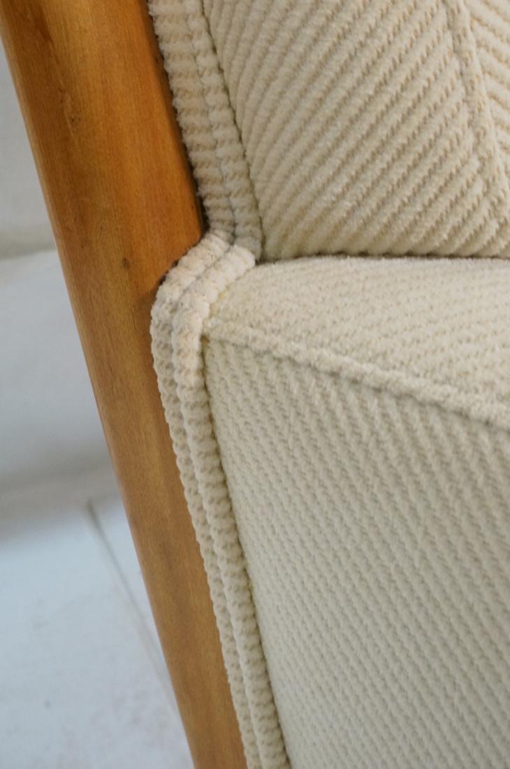 ROBSJOHN GIBBINGS Blond Wood Lounge Chair. Wood f - 6