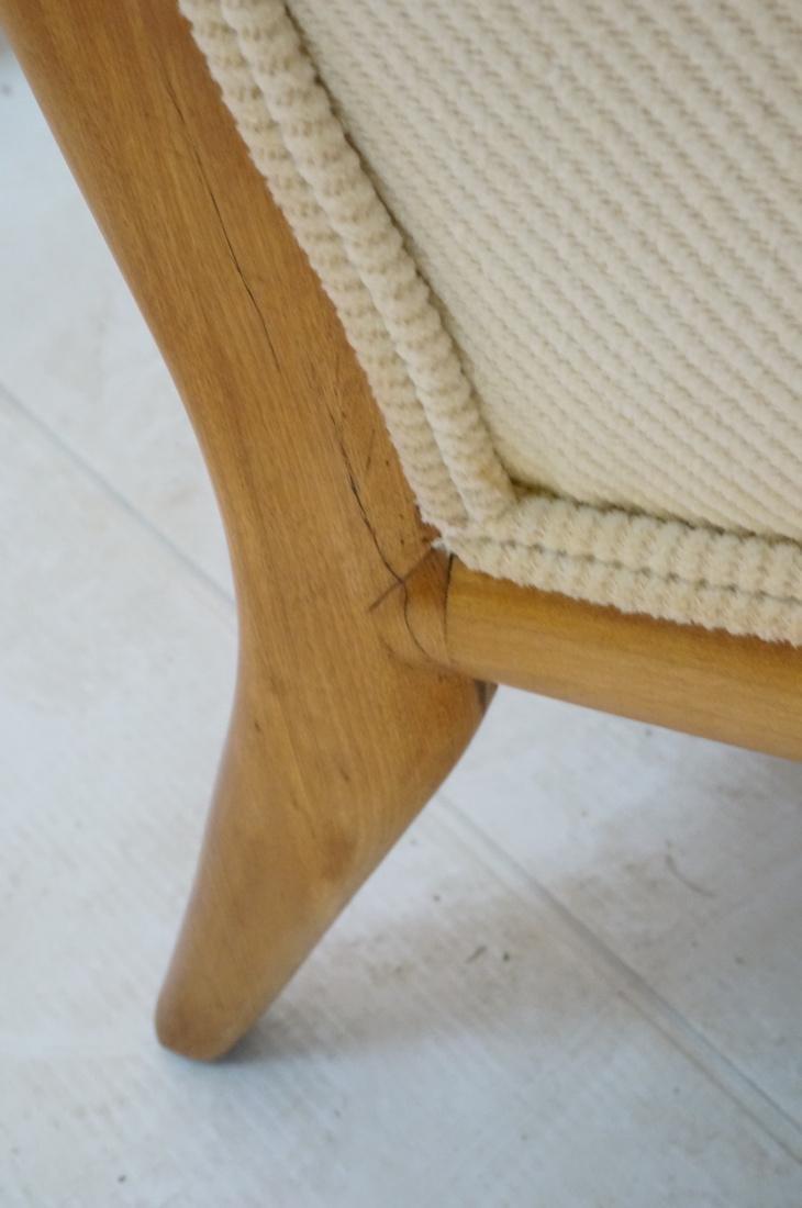 ROBSJOHN GIBBINGS Blond Wood Lounge Chair. Wood f - 7