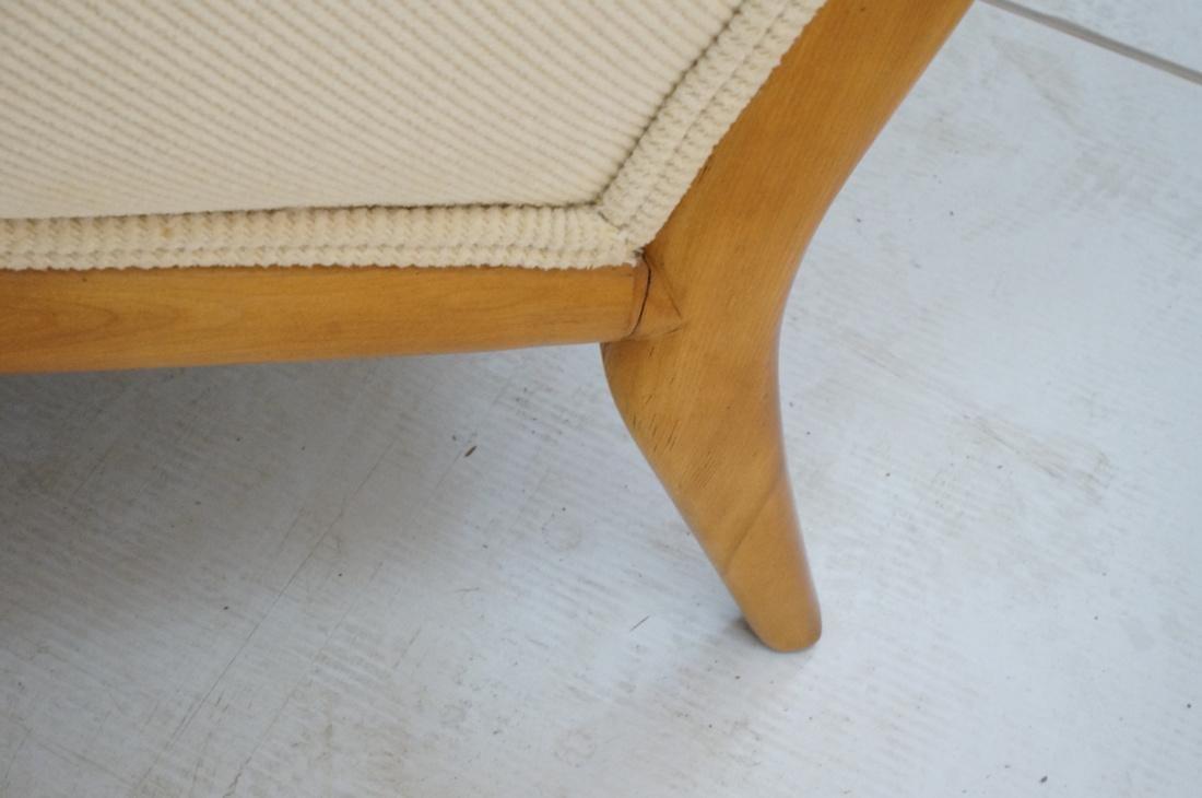 ROBSJOHN GIBBINGS Blond Wood Lounge Chair. Wood f - 8