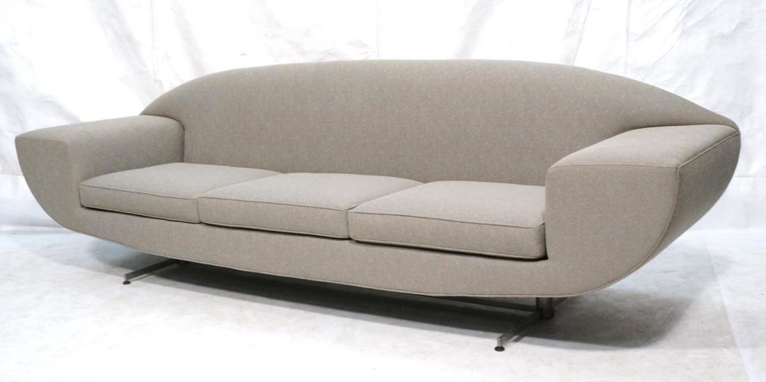 JOHANNES ANDERSEN Capri Sofa Couch. Dramatic wide