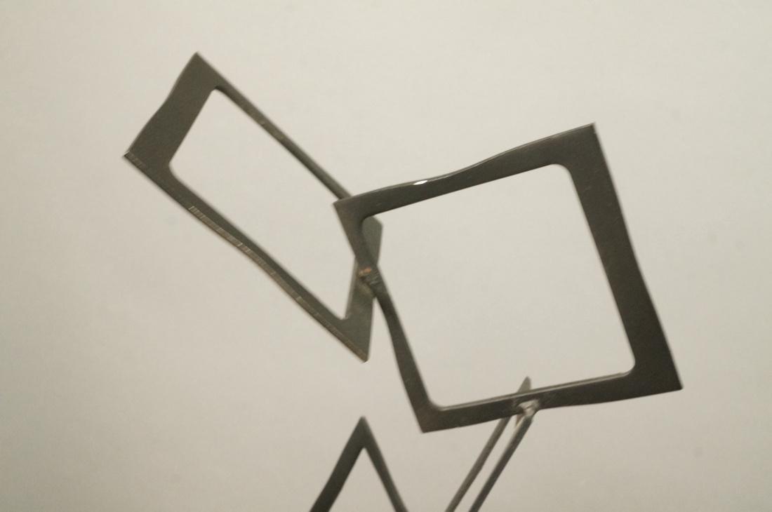 C JERE Modernist Geometric Square Form Sculpture. - 2