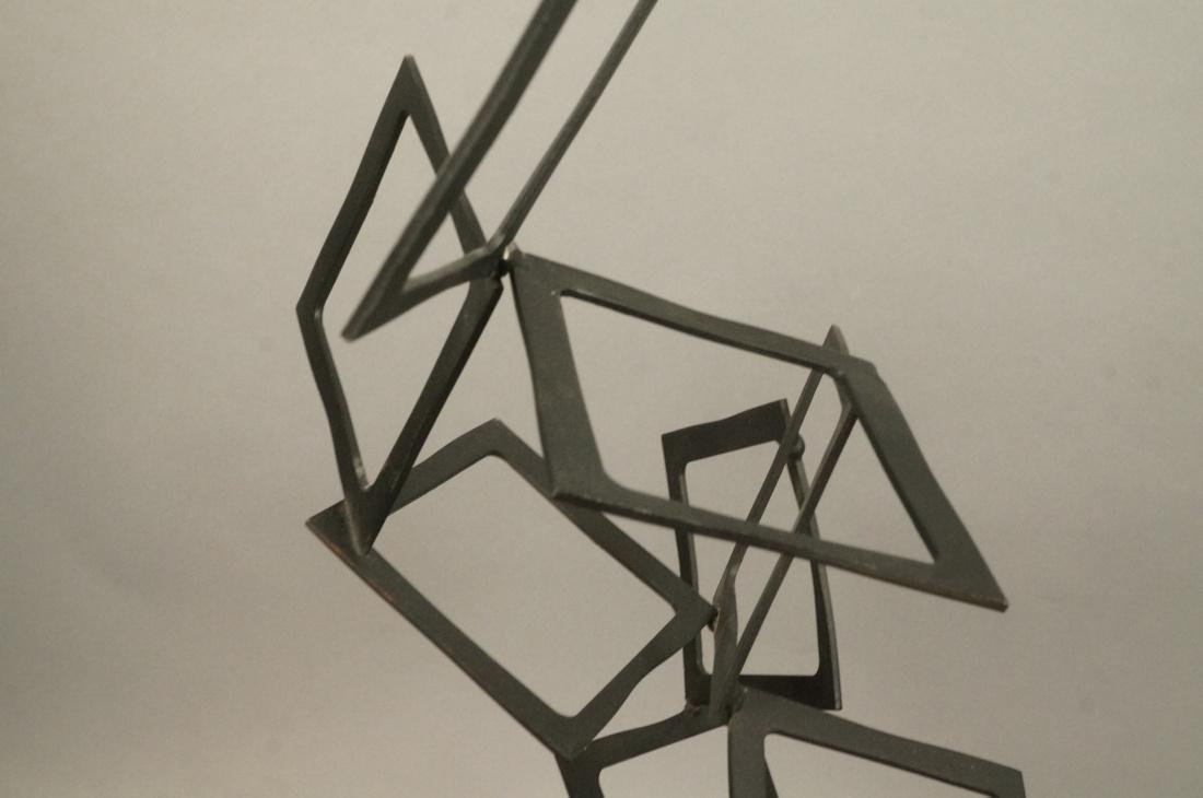 C JERE Modernist Geometric Square Form Sculpture. - 3