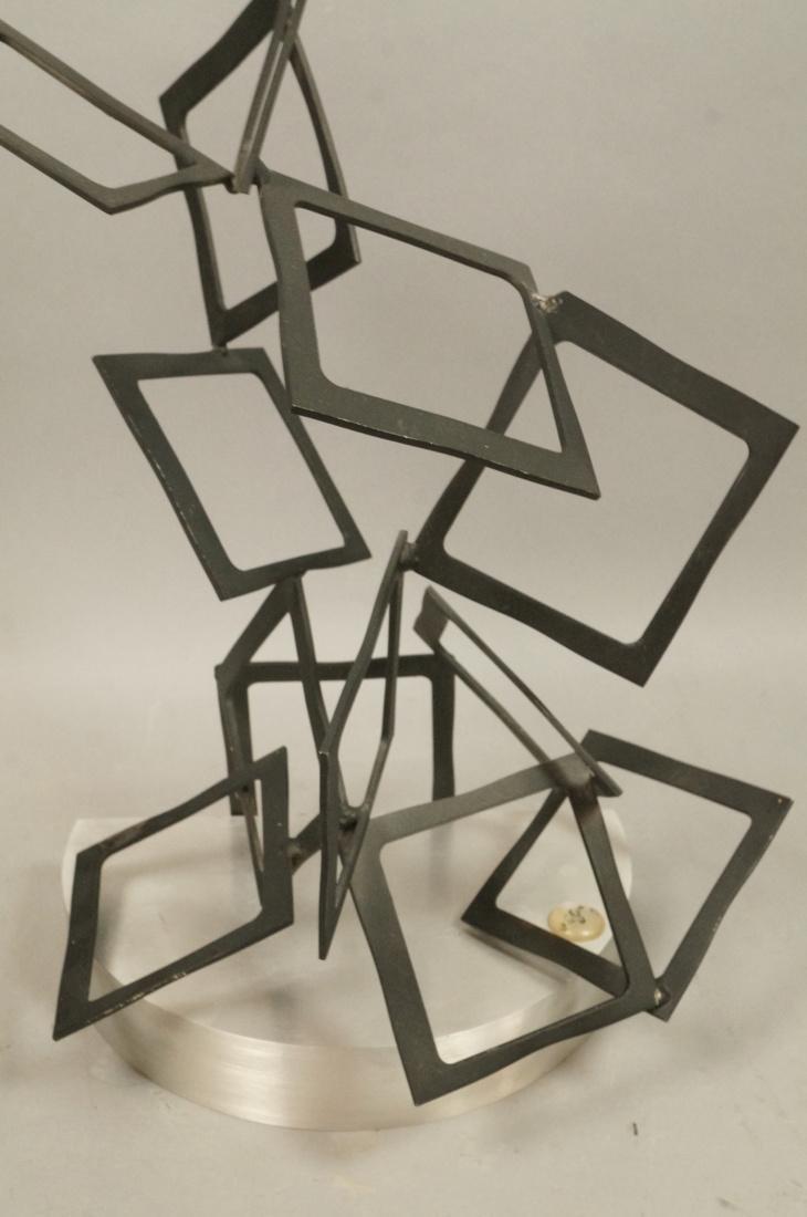 C JERE Modernist Geometric Square Form Sculpture. - 6
