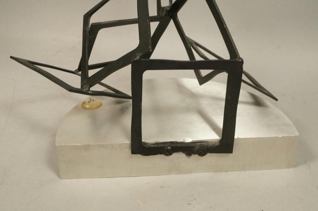 C JERE Modernist Geometric Square Form Sculpture. - 8